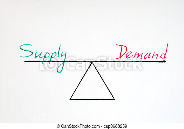 Supply and demand  - csp3688259