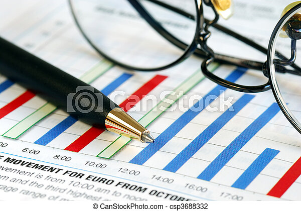 Focus on the foreign exchange  - csp3688332