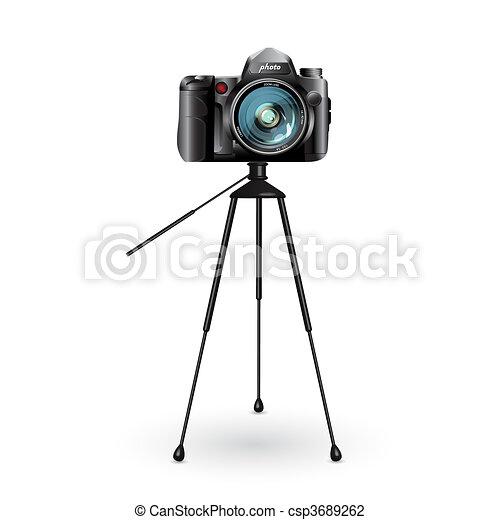 photo camera  - csp3689262