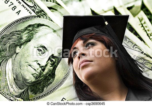 College Tuition Expenses - csp3690645
