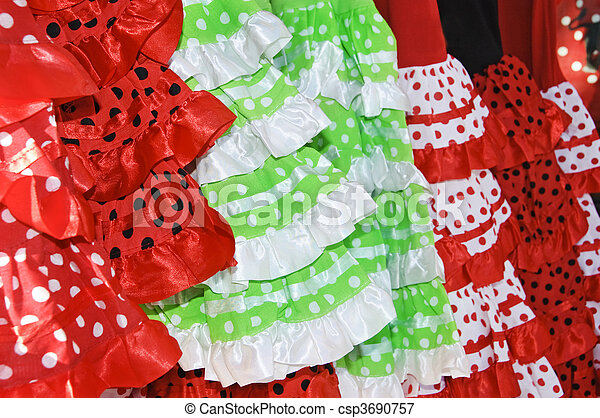 Flamenco, vestidos - csp3690757