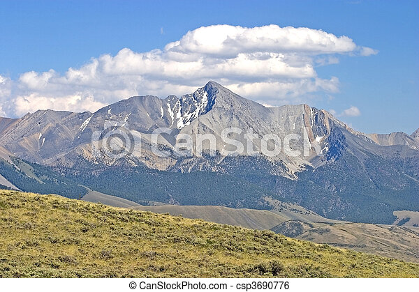 Idaho Rocky Mountains - csp3690776