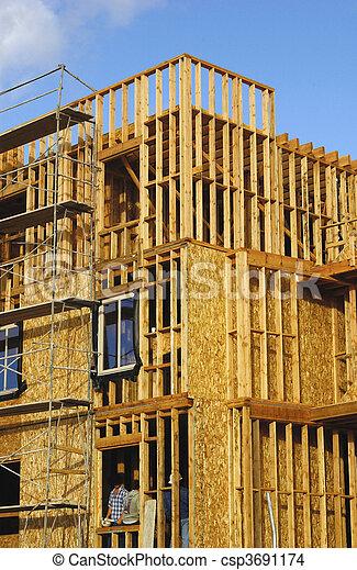 condo construction - csp3691174