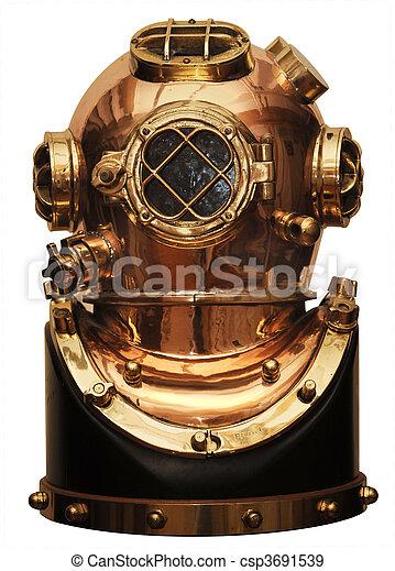 diving helmet - csp3691539