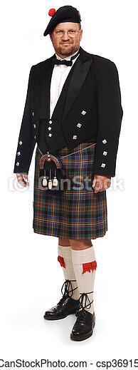 images de montagnard blanc kilt cossais homme dans kilt sur csp3691588 recherchez. Black Bedroom Furniture Sets. Home Design Ideas