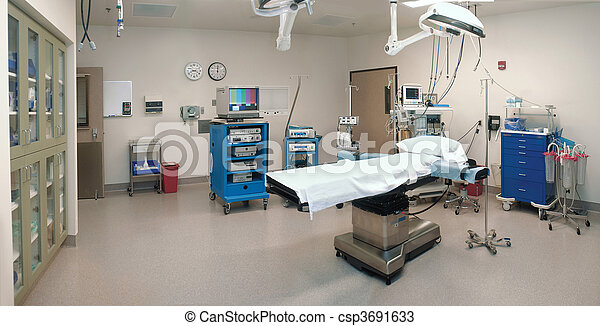 empty operating room - csp3691633