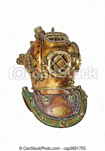 diving helmet - csp3691755