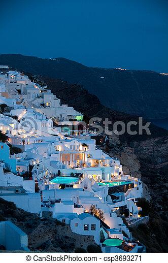 Greek Tourism - csp3693271