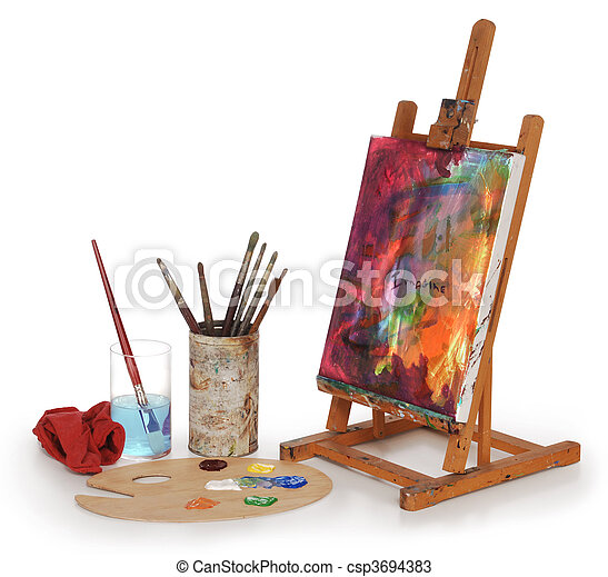 學校, 藝術 - csp3694383