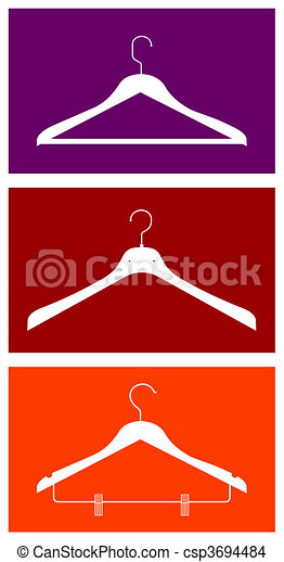 Clothes hangers - csp3694484