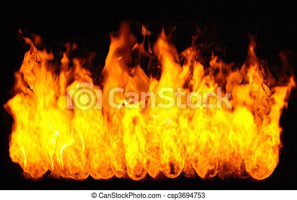 Flames - csp3694753