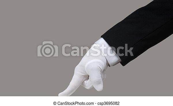 White Glove Test - csp3695082