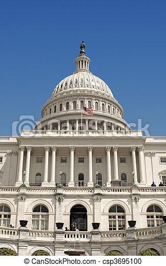 Capitol Dome - csp3695100