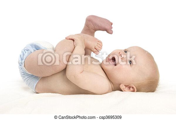 Playfull Baby - csp3695309