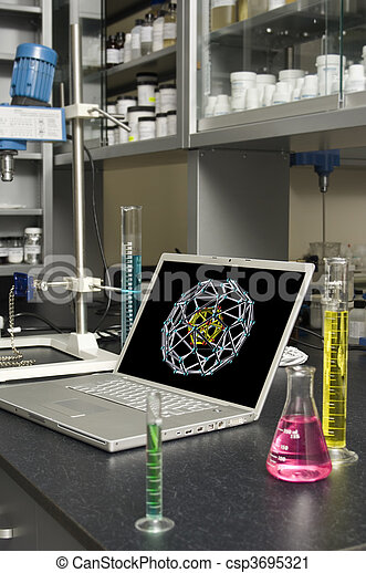 Laboratory Laptop - csp3695321