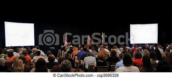 Convention Speaker - csp3695326