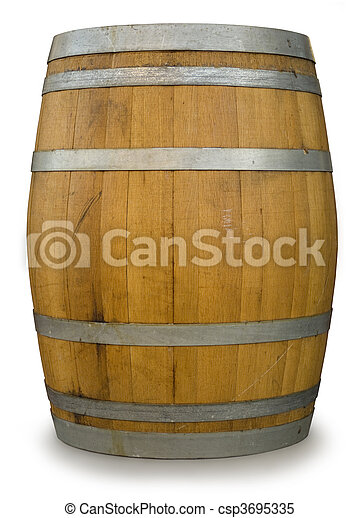 Oak Barrel - csp3695335