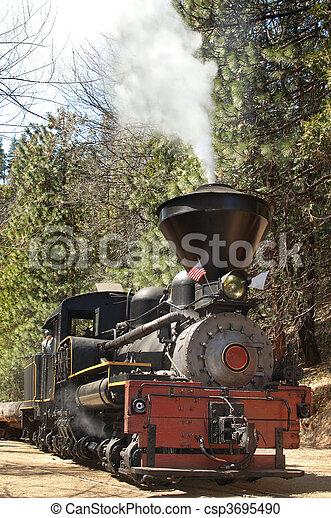 Locomotive Vertical - csp3695490