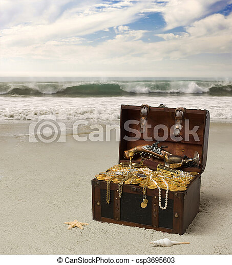 pirate\\\'s treasure - csp3695603