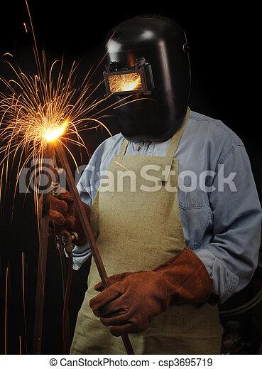 Industrial Welder - csp3695719