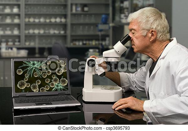 Bio Technology - csp3695793