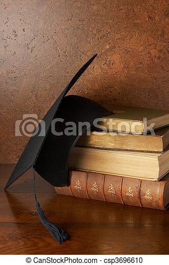 Graduation still life - csp3696610