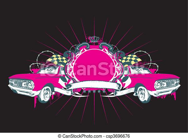 car Insignia - csp3696676