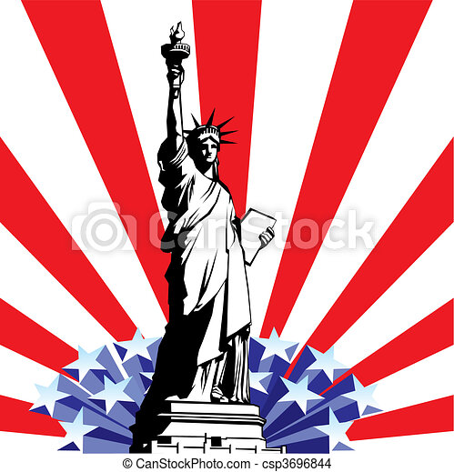 Statue of Liberty - csp3696844