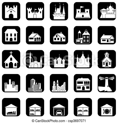 architectural icons - csp3697071