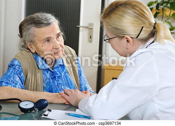 exame médico - csp3697134