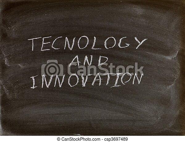 tecnologia, e, inovação - csp3697489