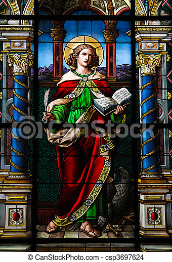 Saint John the Evangelist. - csp3697624