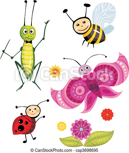 insect set - csp3698695