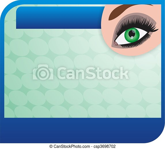 eye clinic - csp3698702