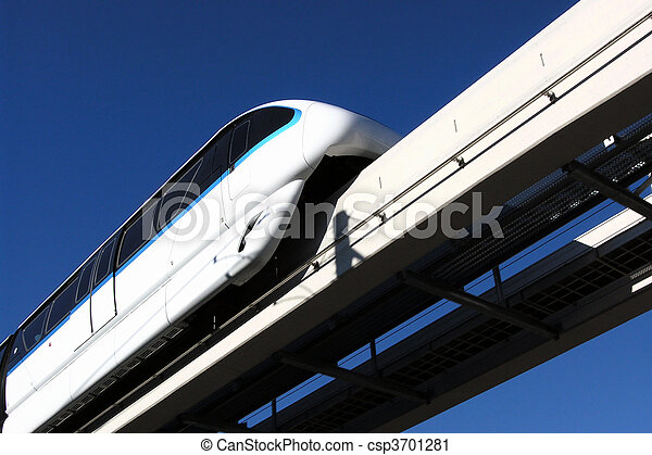 Las Vegas Monorail - csp3701281