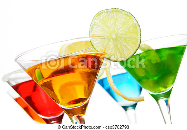 Cocktail drinks - csp3702793