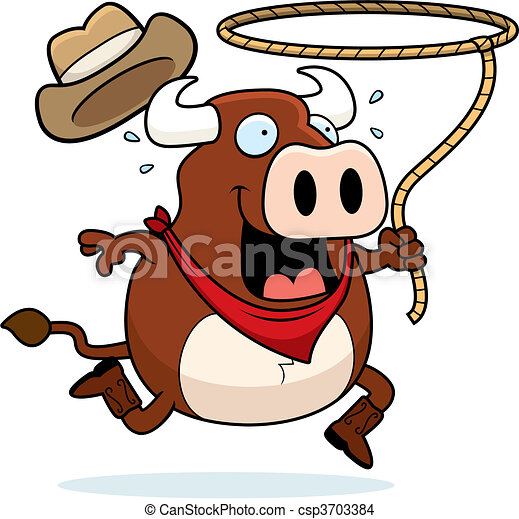 Bull Rodeo - csp3703384