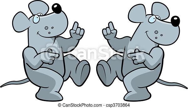 Rat Dancing - csp3703864