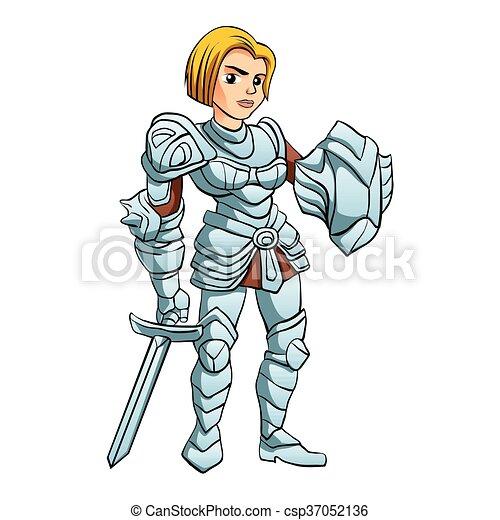 Warrior Princess - csp37052136