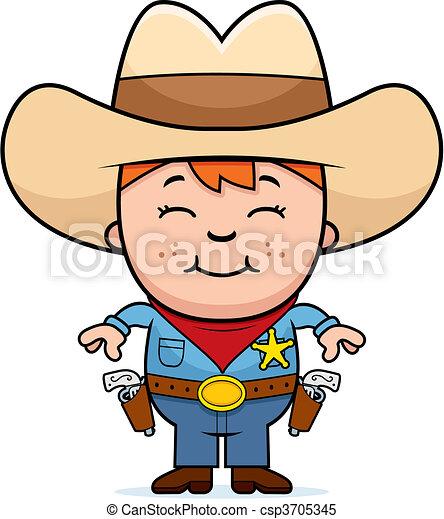 Kid Sheriff - csp3705345