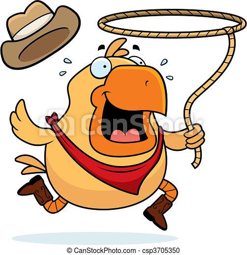 Rodeo Chicken - csp3705350