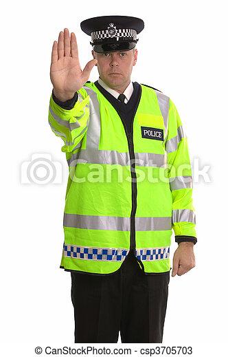 Police traffic stop - csp3705703