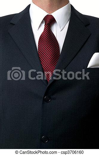 Shirt and tie torso - csp3706160