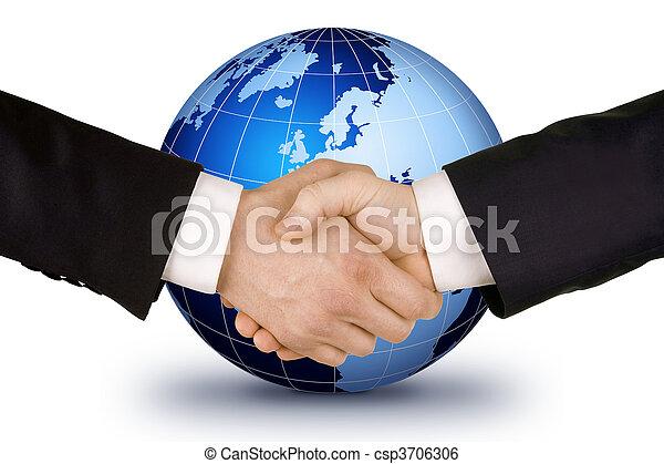 Business handshake - csp3706306