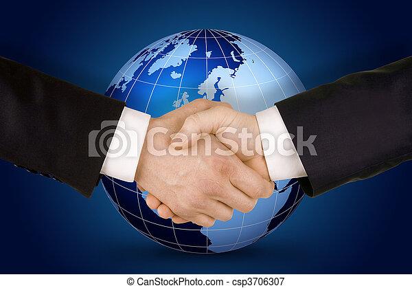Business handshake - csp3706307