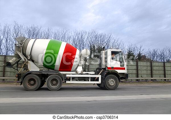 Cement lorry - csp3706314