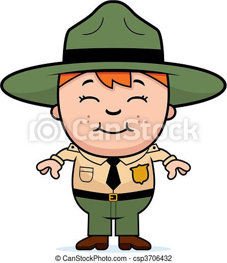 Kid Park Ranger - csp3706432