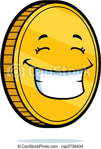 Coin Smiling - csp3706434