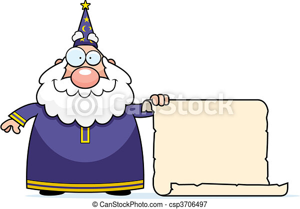 Wizard Scroll - csp3706497
