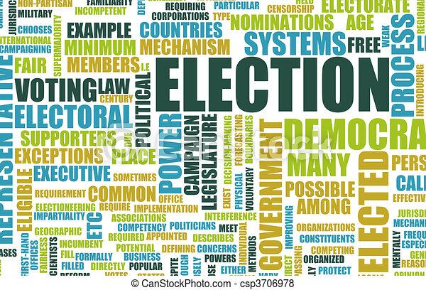 Election - csp3706978